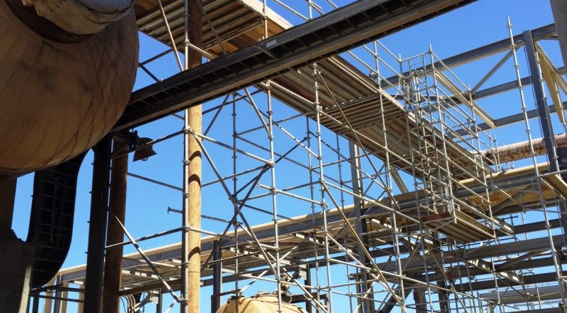 Liberty provides long-term scaffold rentals for maintenance projects.