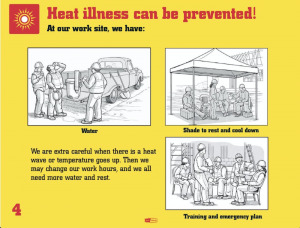 Prevent heat illness with a few simple steps