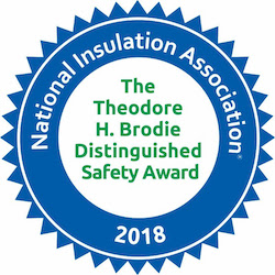 Liberty Industrial Received a Platinum Safety Award from the National Insulation Association