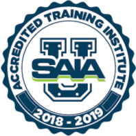 2018-2019 SAIA Accredited Training Institute Logo