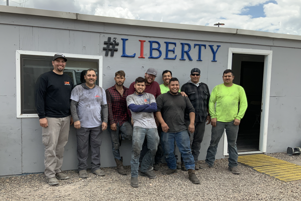Liberty's highly skilled workforce