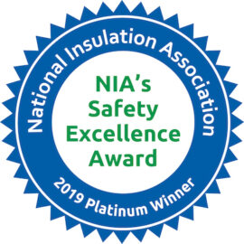 NIA Platinum Safety Award Winner